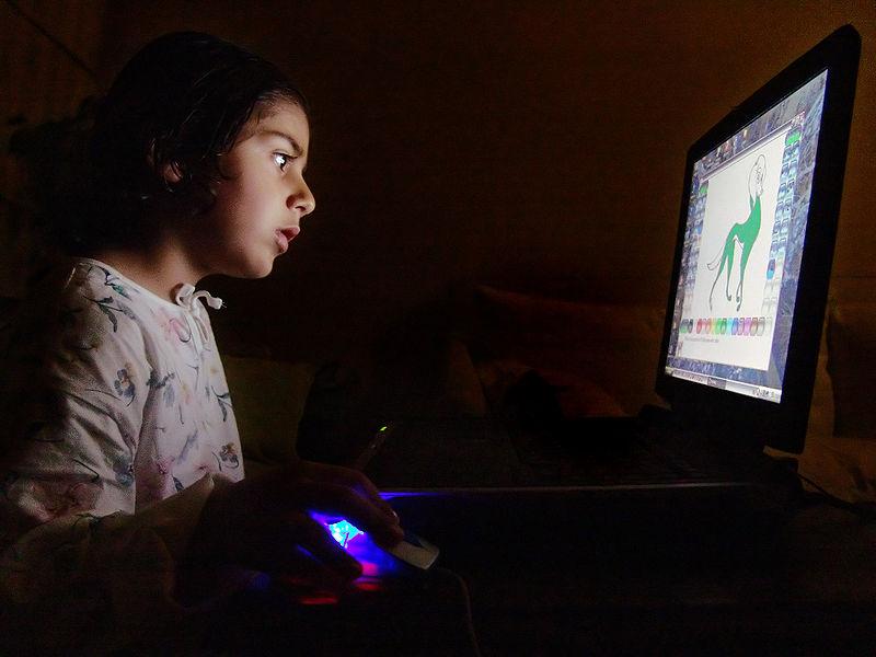 børnesikring af internettet